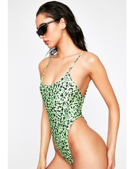 Leopard Rapture One Piece Swimsuit