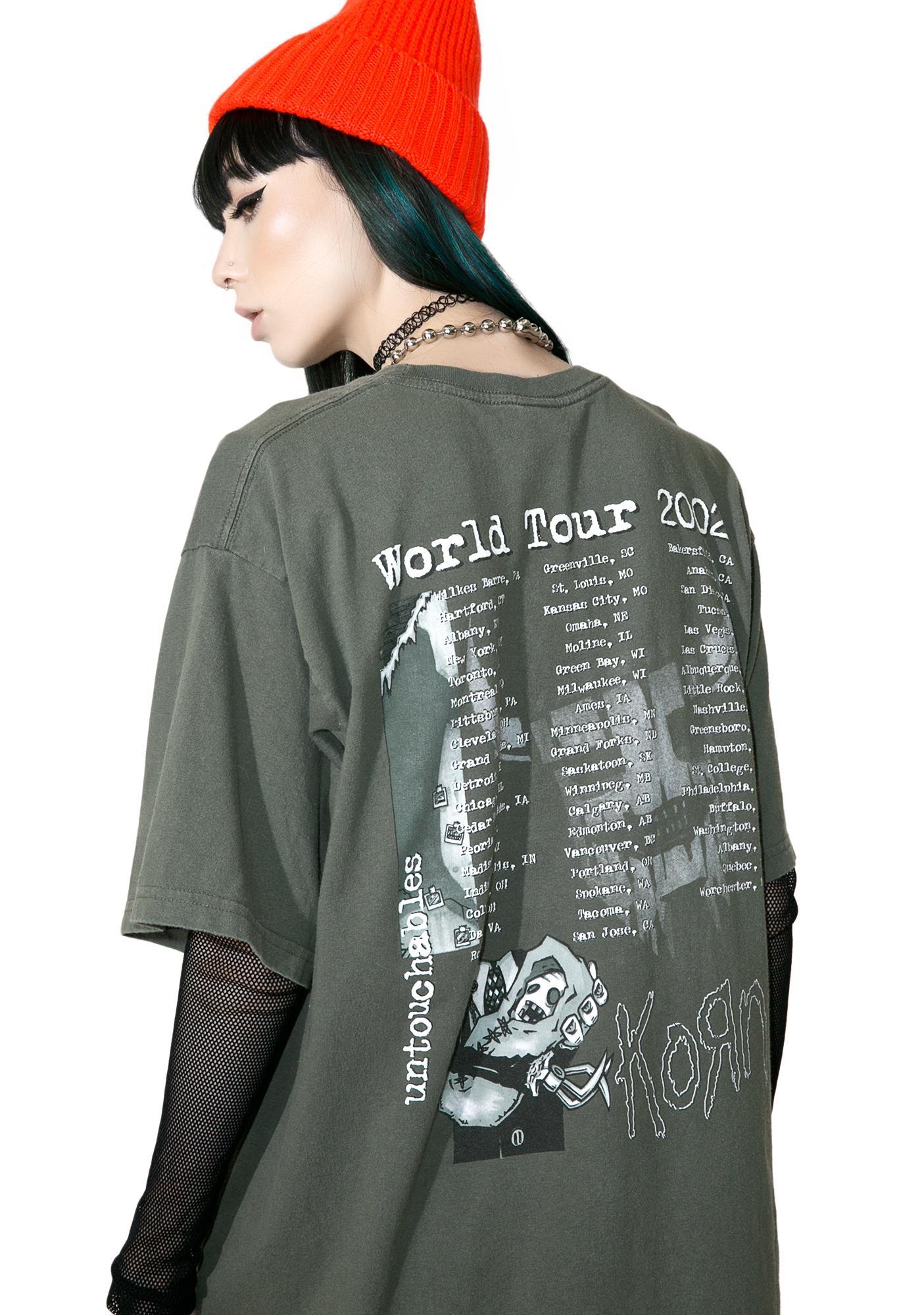 Vintage Korn '02 Tour Tee
