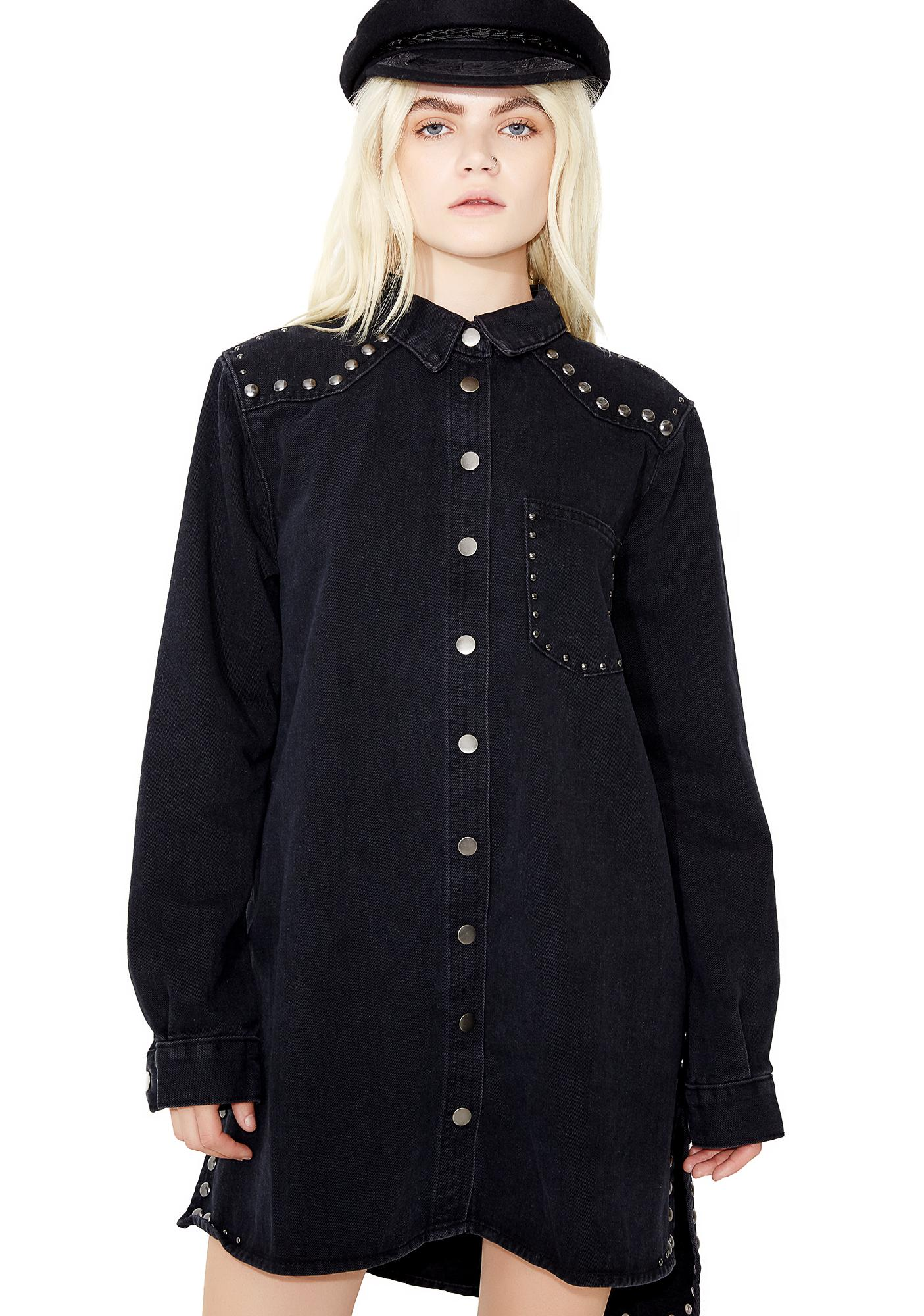 Glamorous At The Limit Button Up Shirt