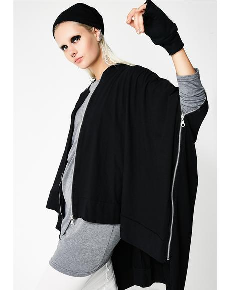 Ceres Zip Up Cape