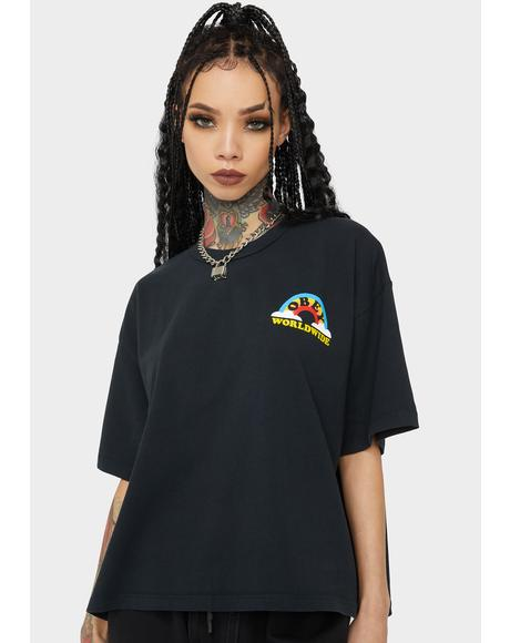 Look Don't Touch Graphic Tee