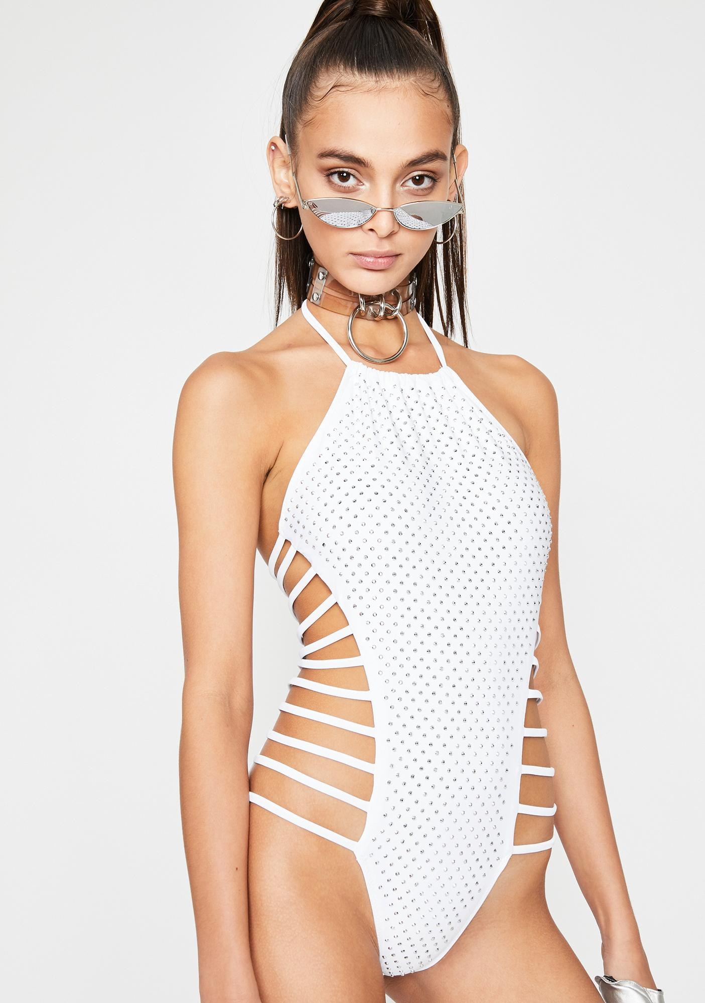 All For Show Cut Out Bodysuit