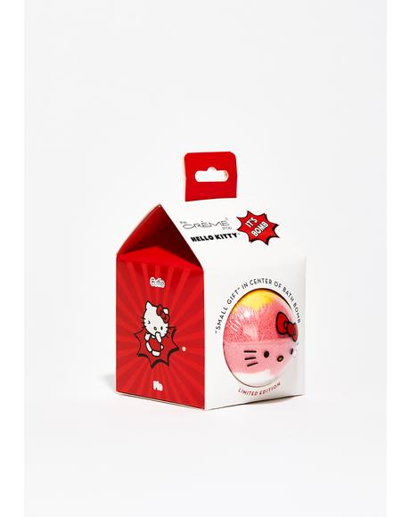 Hello Kitty Bath Bomb