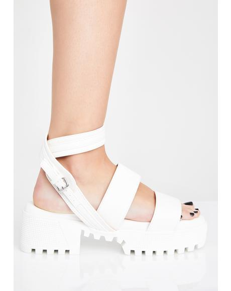 Icy Feisty Fury Platform Sandals