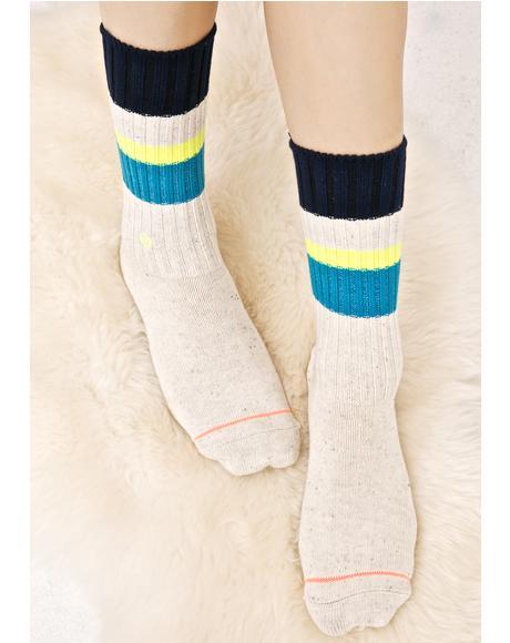 Basically Basic Crew Socks