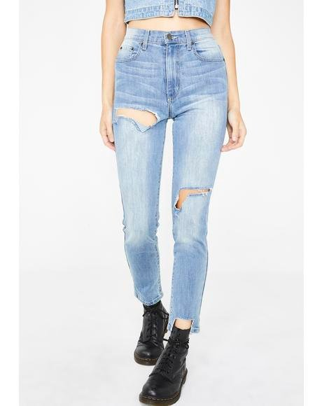 Lily Ara High-Waisted Jeans
