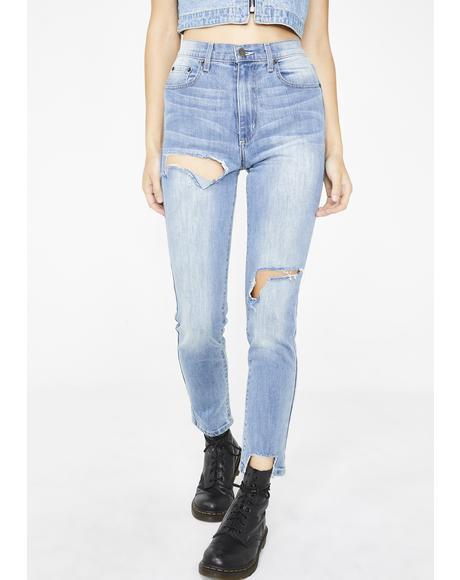 Lily Ara High-Waisted Jeans