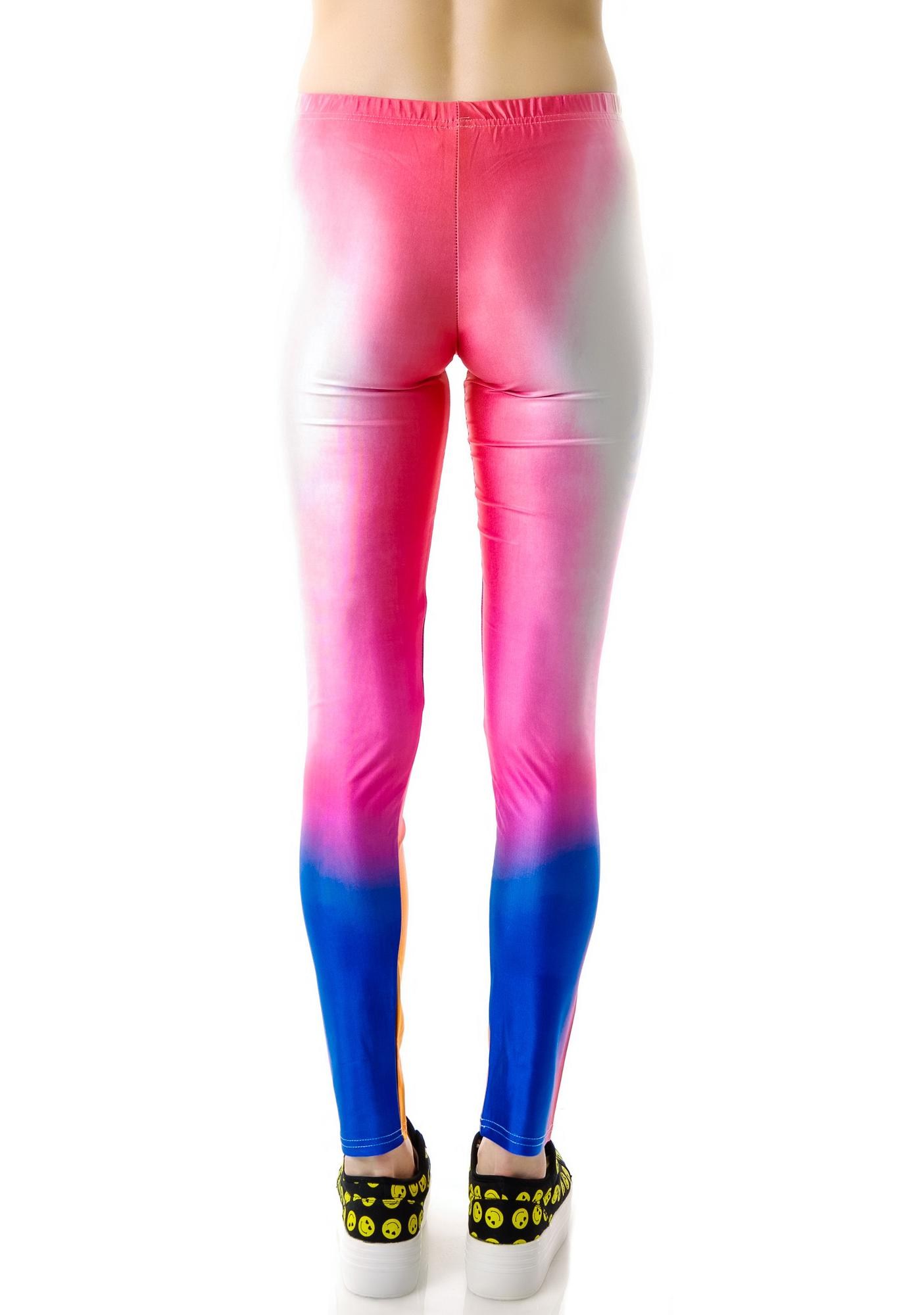Eye Dyed Leggings