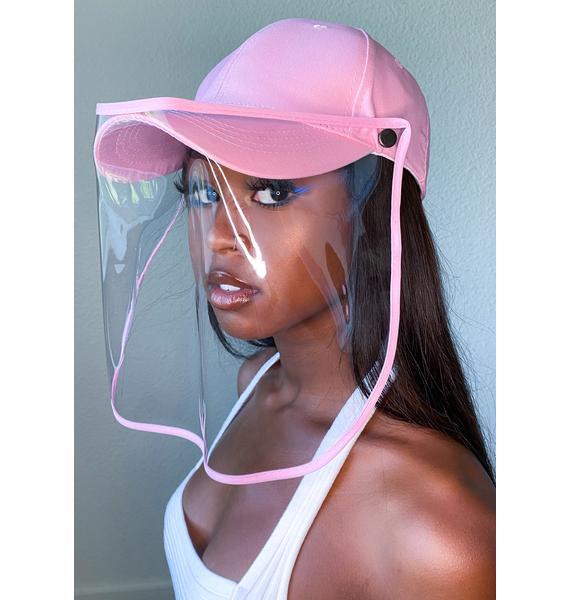Gemelli Pink Safety Shield Hat