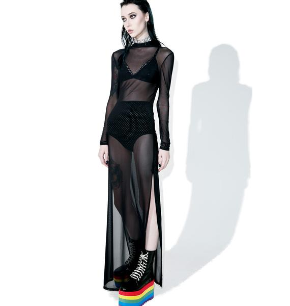 Indulge Mesh Maxi Dress