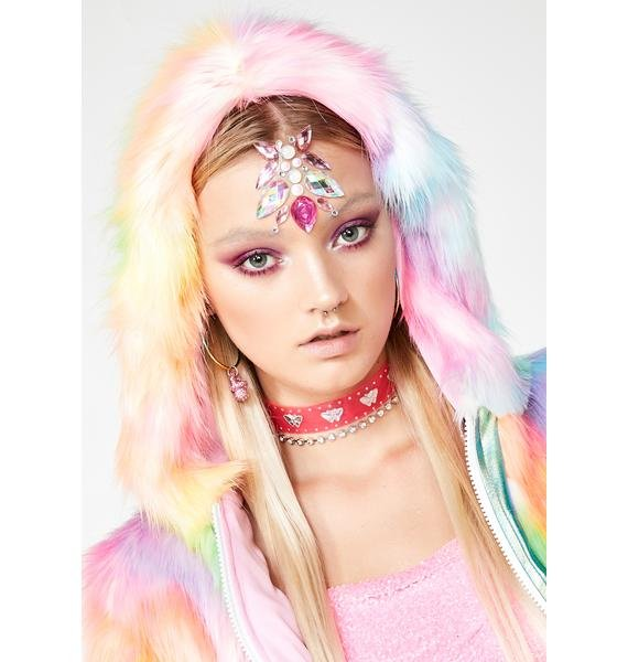 Festival Faces Group x Georgie Hair And Body Jewels
