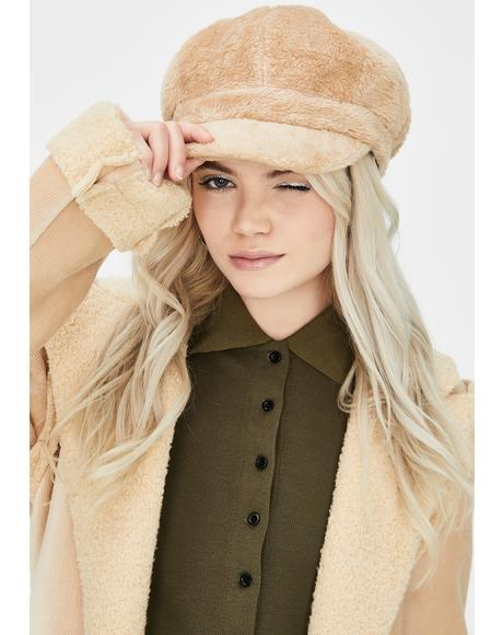 Plush Love Faux Fur Hat