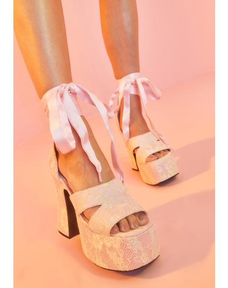 Remember My Name Platform Heels