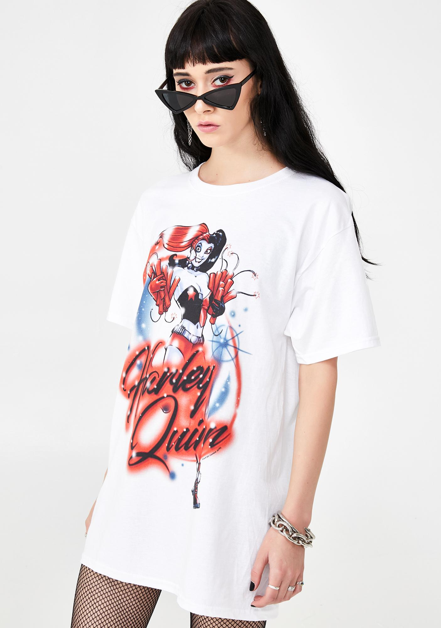 Trevco Harley Quinn Graphic Tee