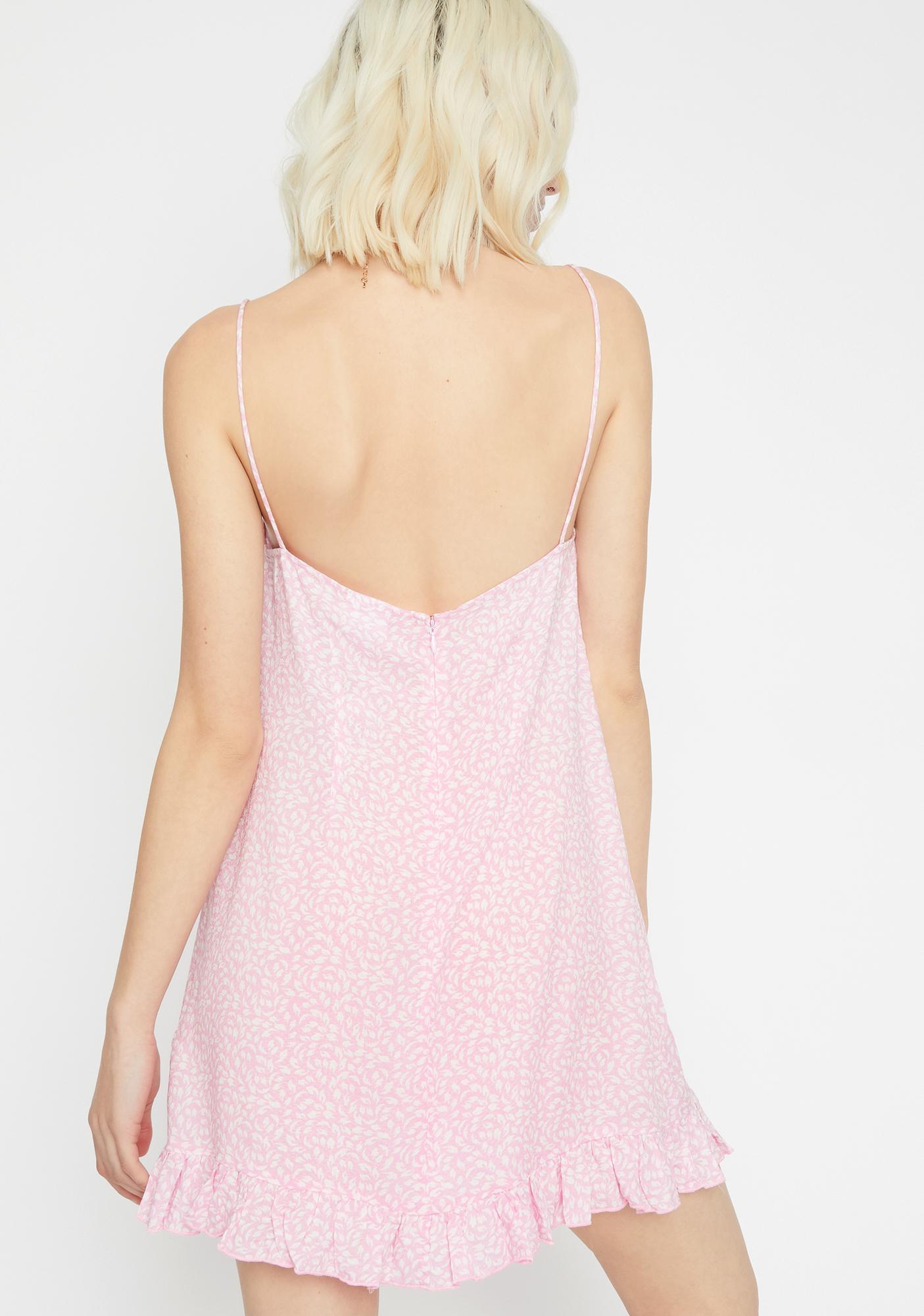 04212ae2c ... Bubblegum Enchanted Garden Babydoll Dress