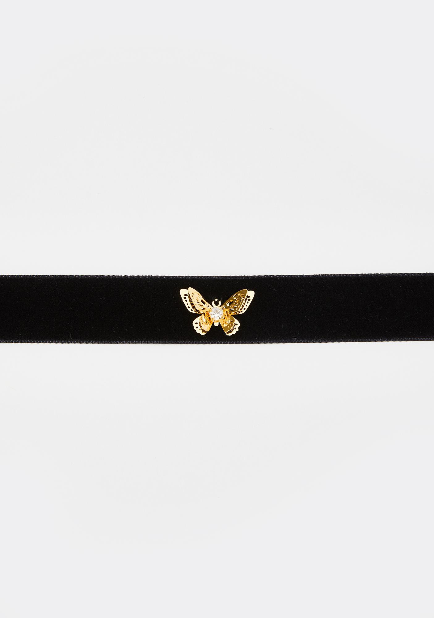 Finally Free Butterfly Choker