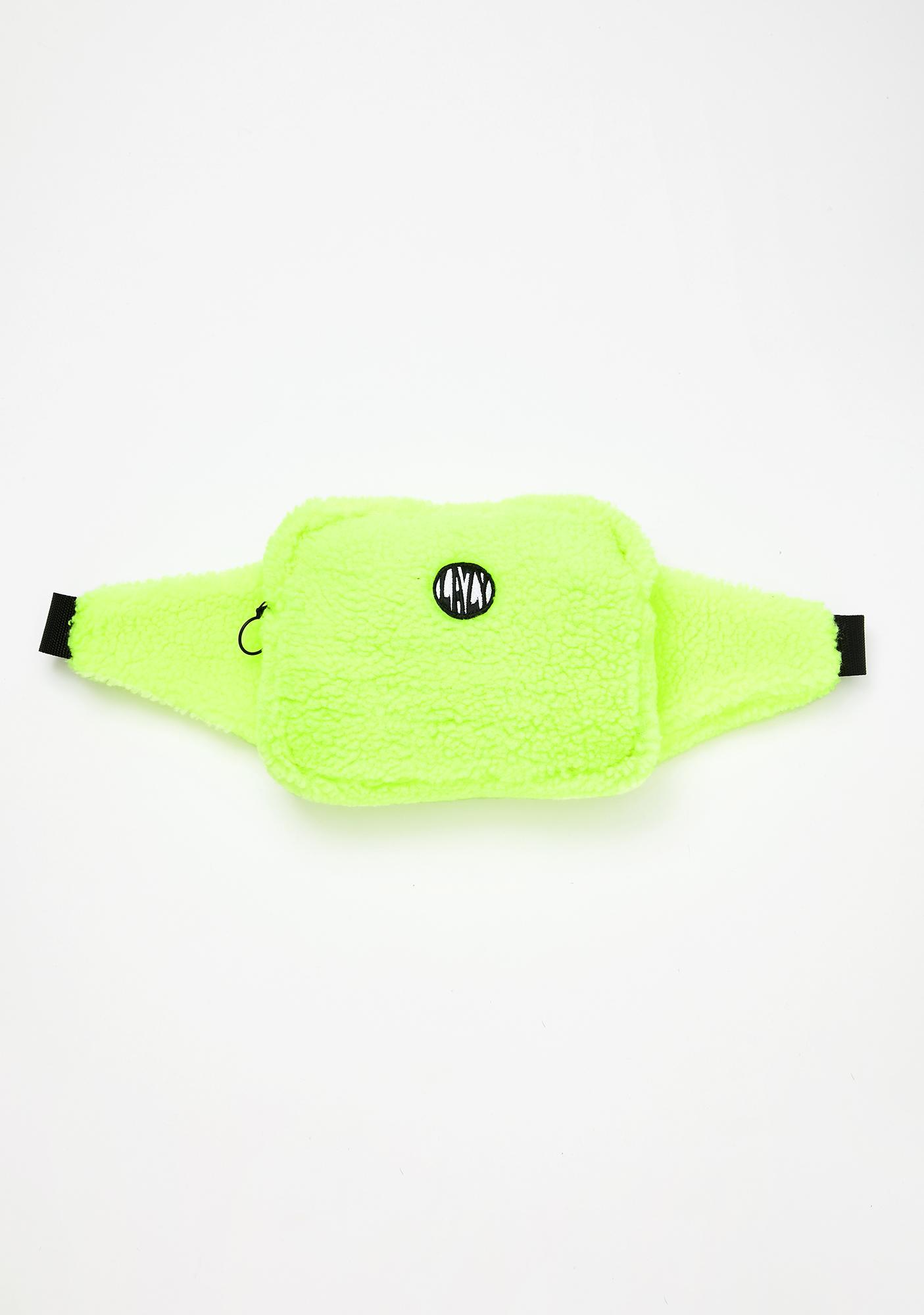Lazy Oaf Neon Dreams Bum Bag