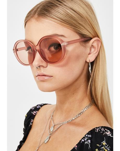 Sweet Mz. Magoo Circle Sunglasses