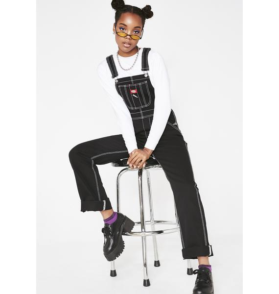 Dickies Girl Relaxed Twill Overalls