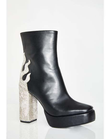 Diamond Certified Ankle Boots