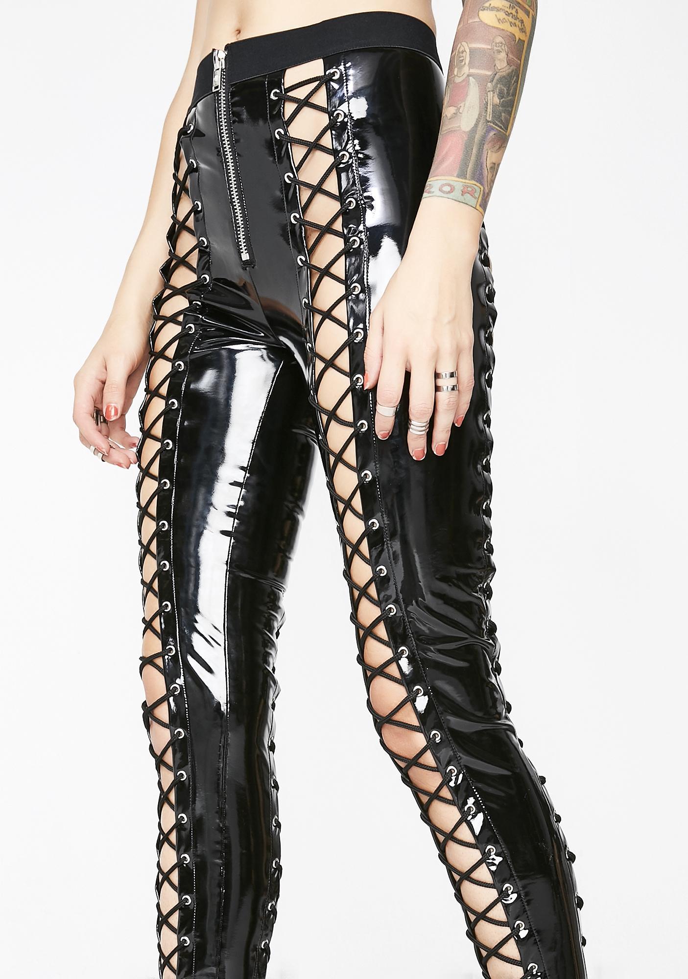 Current Mood Zip It Nancy Corset Leggings