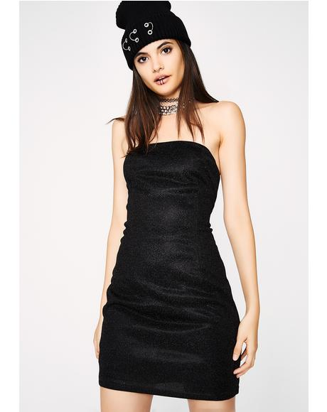 Midnight Star Strapless Dress