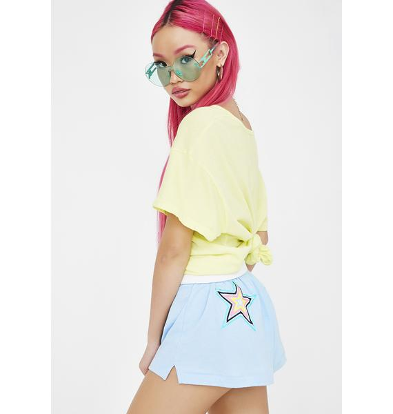 Wildfox Couture Starbright Golden Shorts
