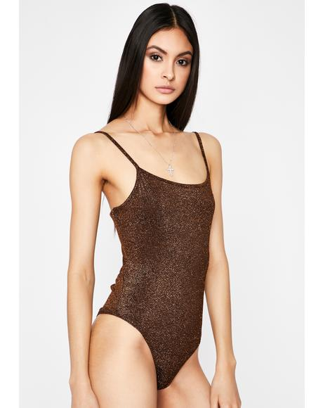 Best For Last Glitter Bodysuit
