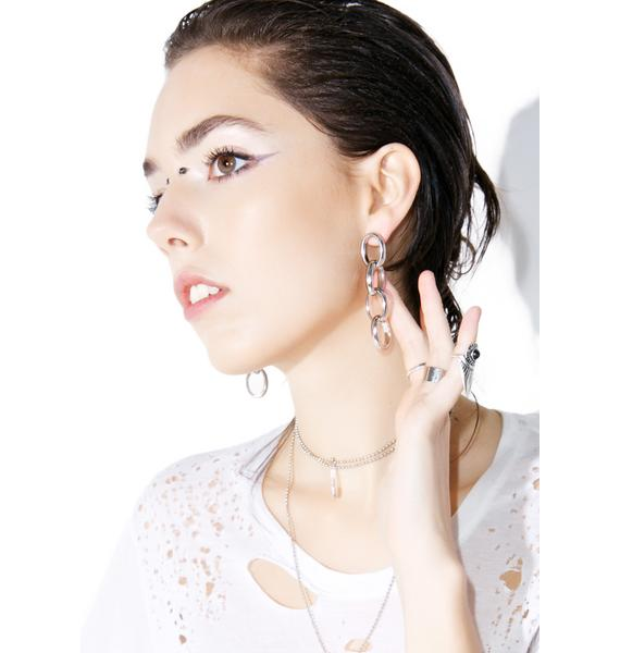 Link Up Earrings