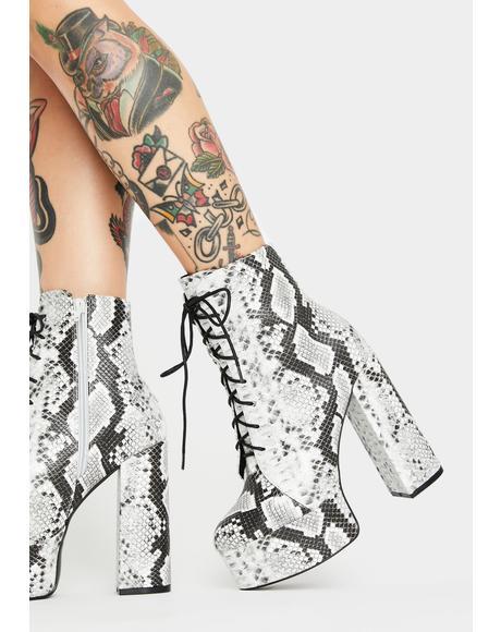 Toxic Femme Flair Platform Boots