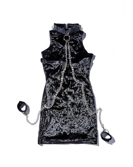 Viper Bondage Mini Dress