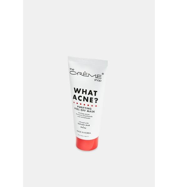 The Crème Shop What Acne Purifying Peel Off Mask