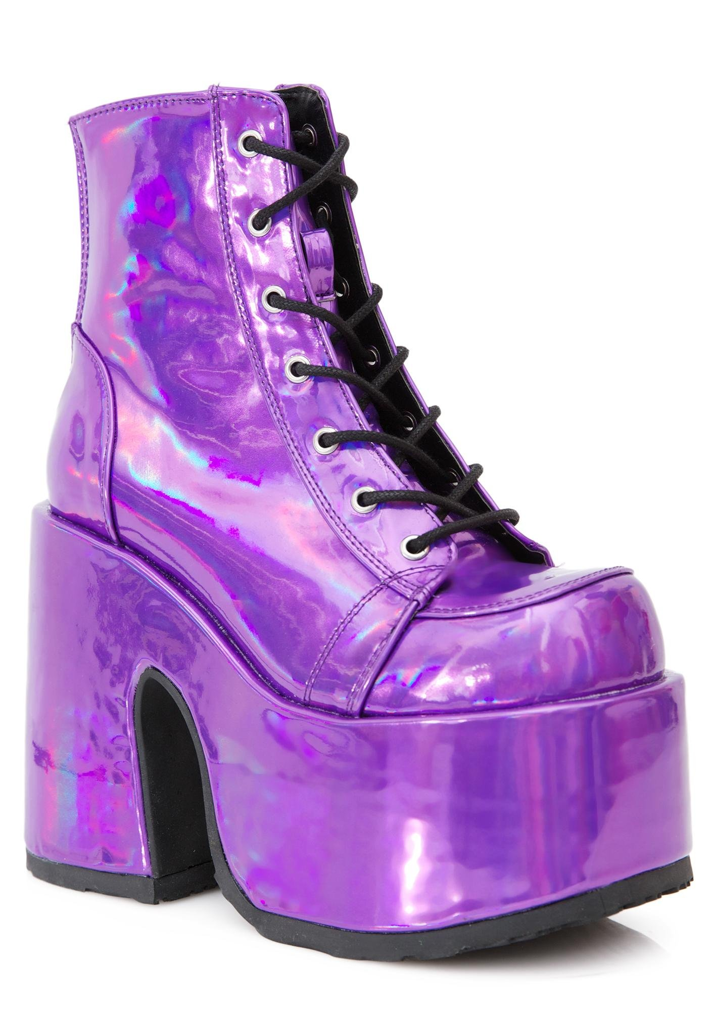 Demonia Rave Royalty Platform Boots