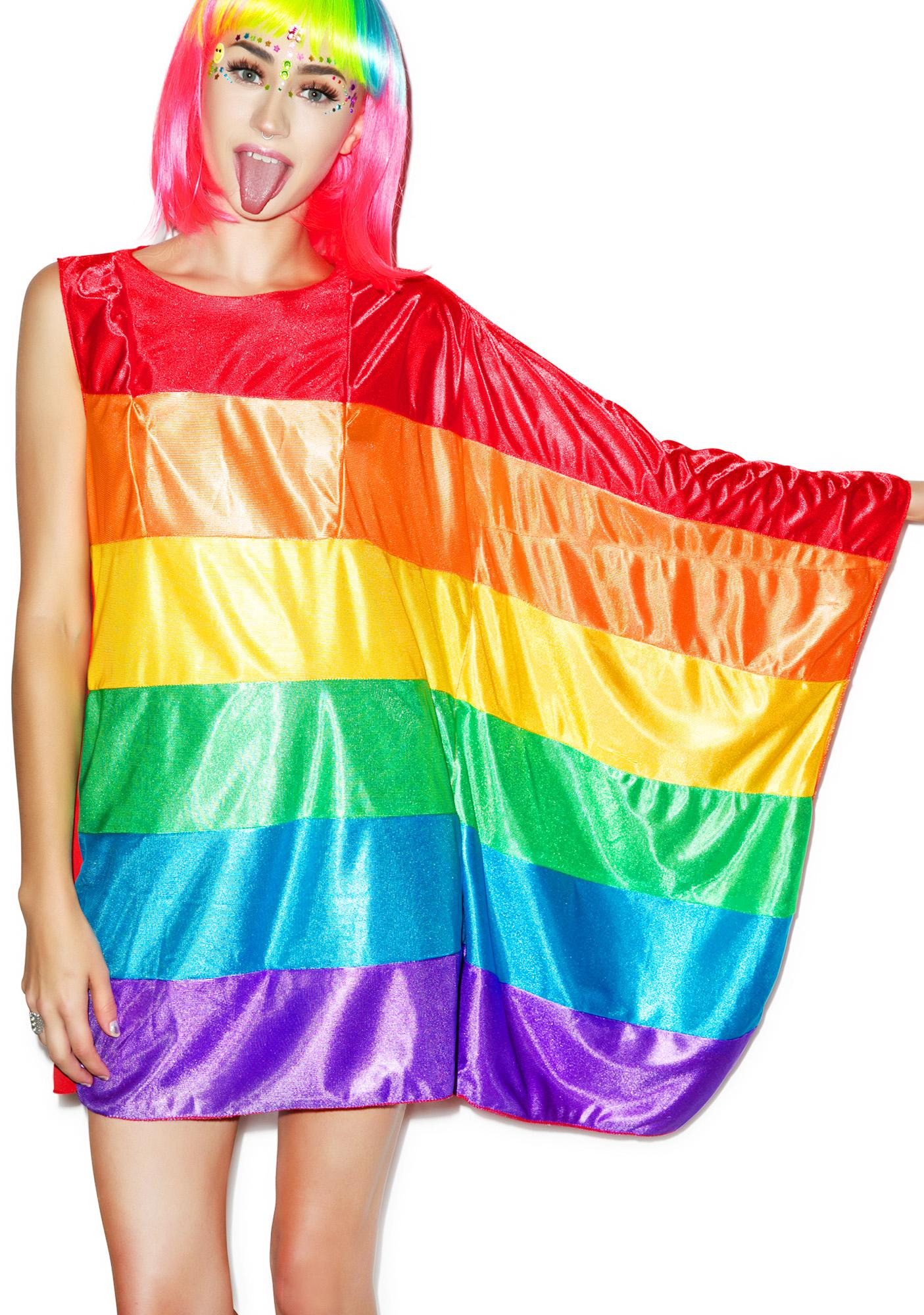 Rainbow Flag Dress