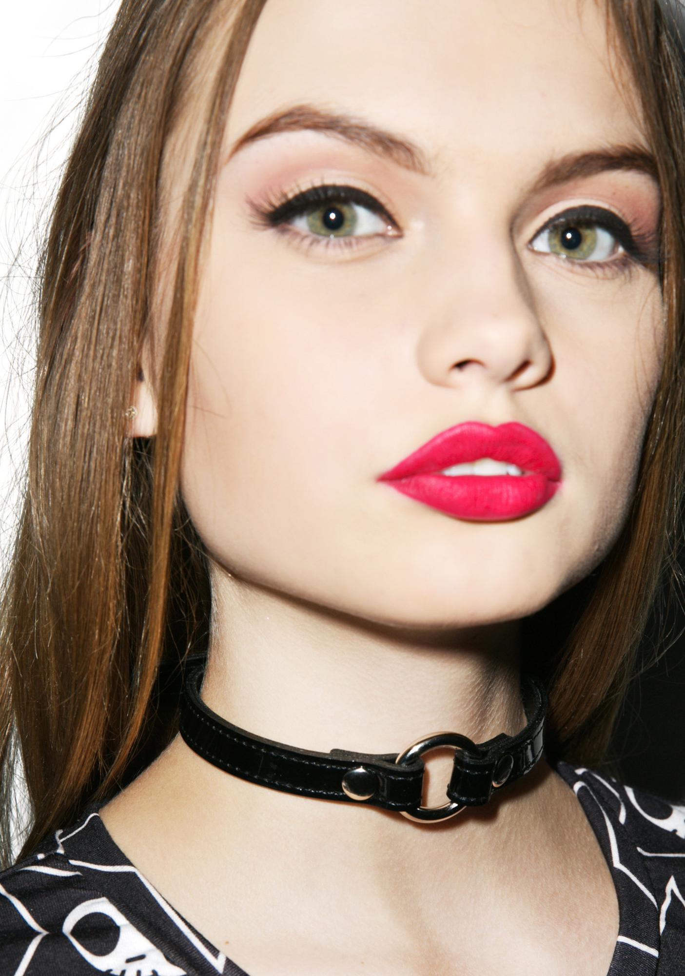 Hell O Leather Choker