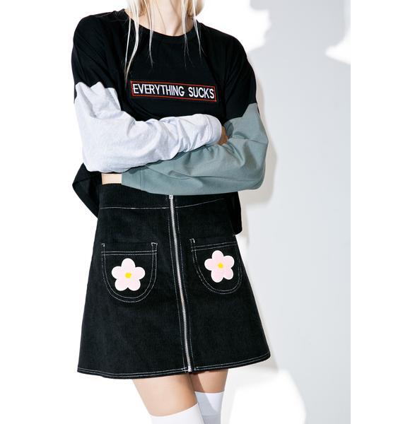 The Ragged Priest Dark Swinger Skirt