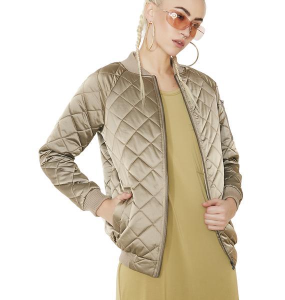 Lira Clothing La Rosa Bomber