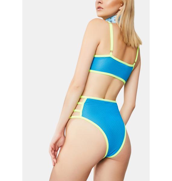 Electric Summer Shorts Set