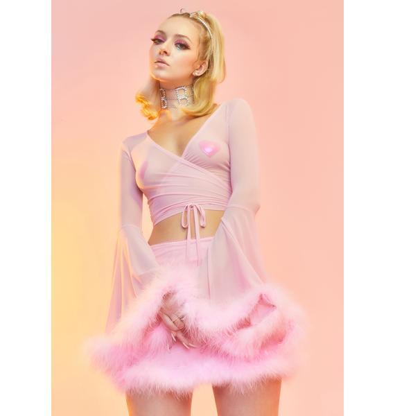 Sugar Thrillz Hollywood Dream Wrap Top