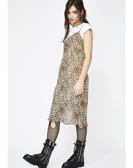 Feline Myself Leopard Slip