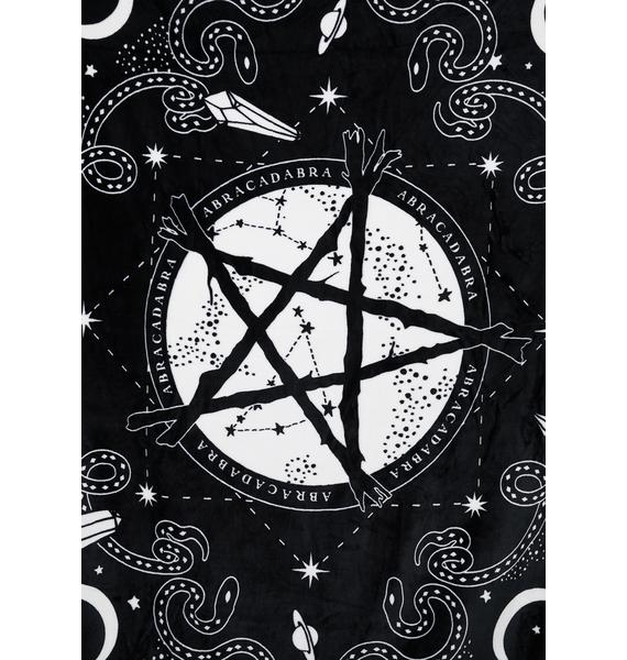 Killstar Blessed Be Blanket