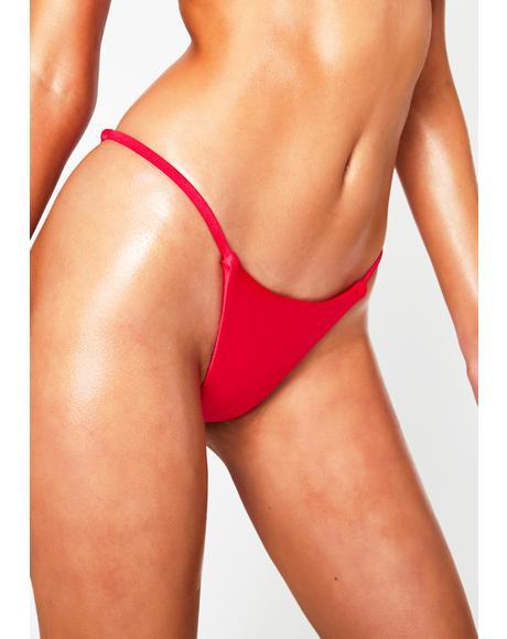 Hot Pink Spell Bikini Bottoms