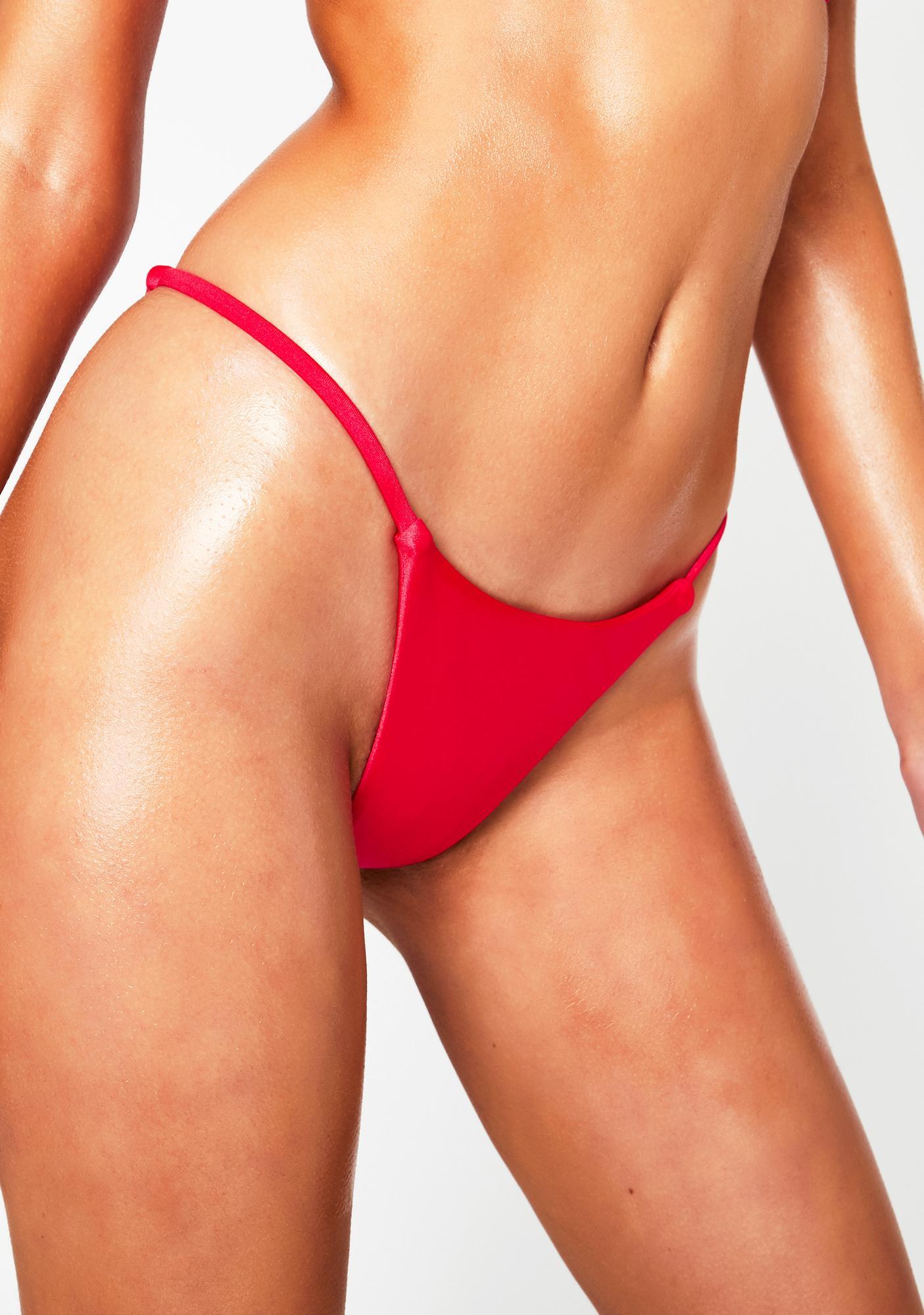 RIS-K Hot Pink Spell Bikini Bottoms