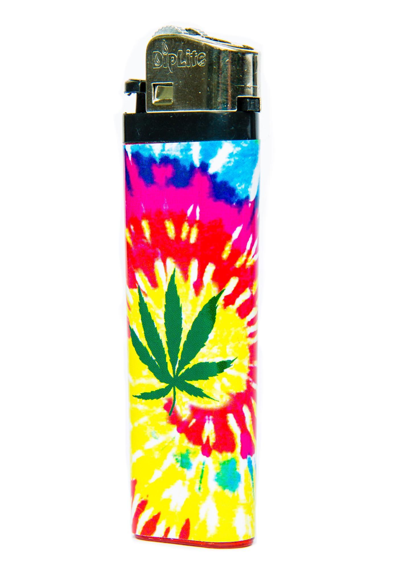Blazin Weed Tie Dye Lighter