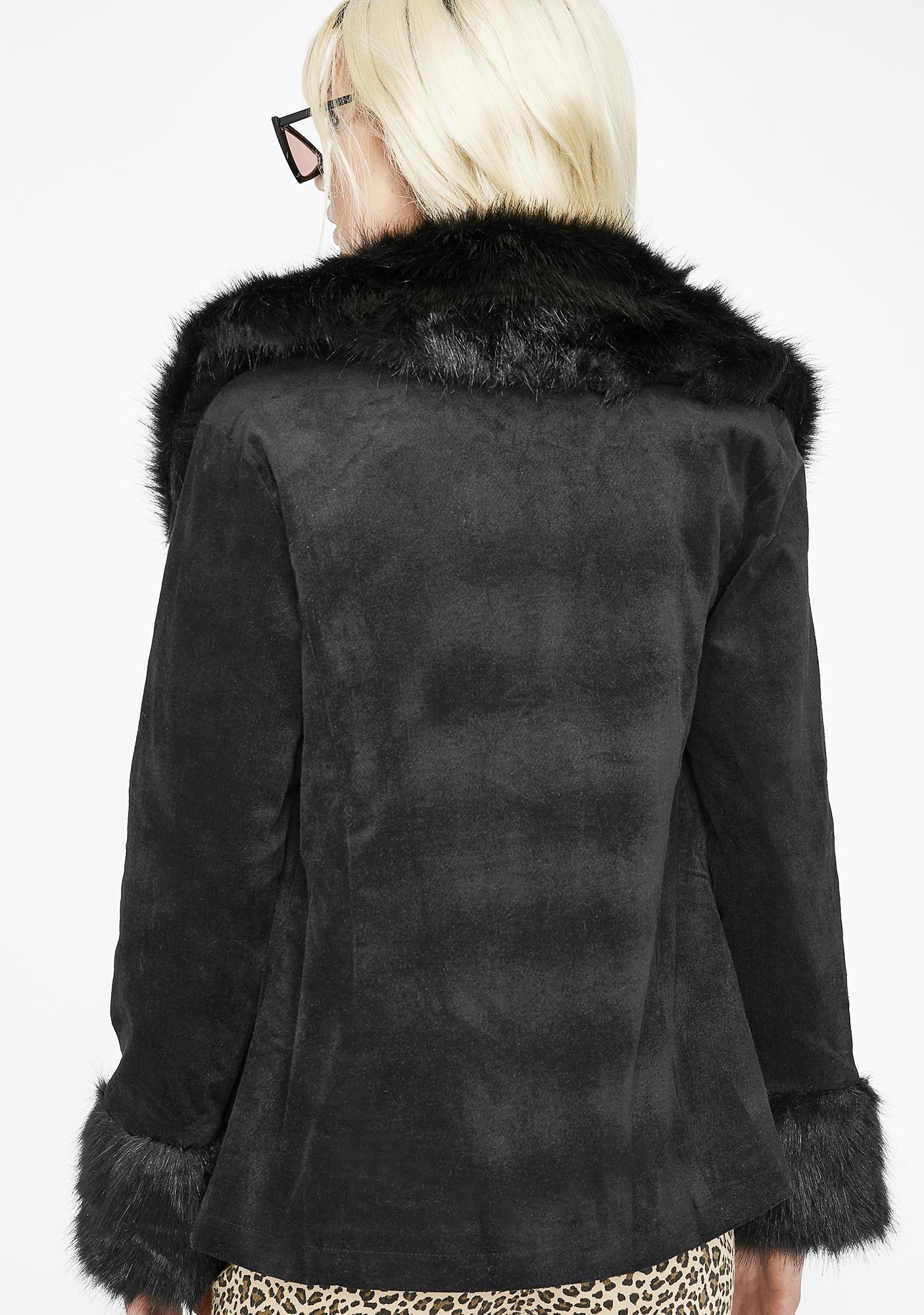 Feelin' Fab Faux Fur Coat