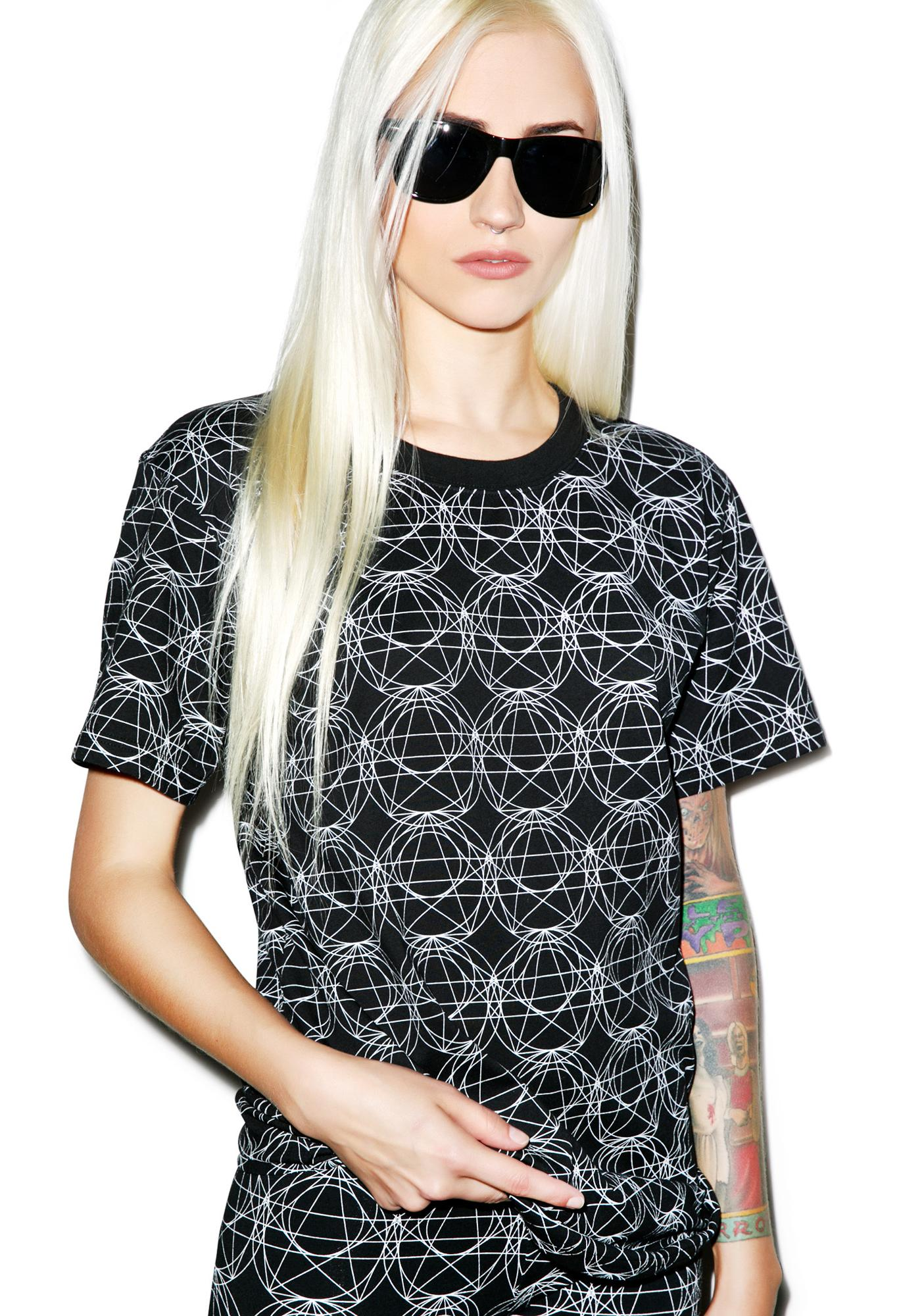 Black Scale Starlette T-Shirt