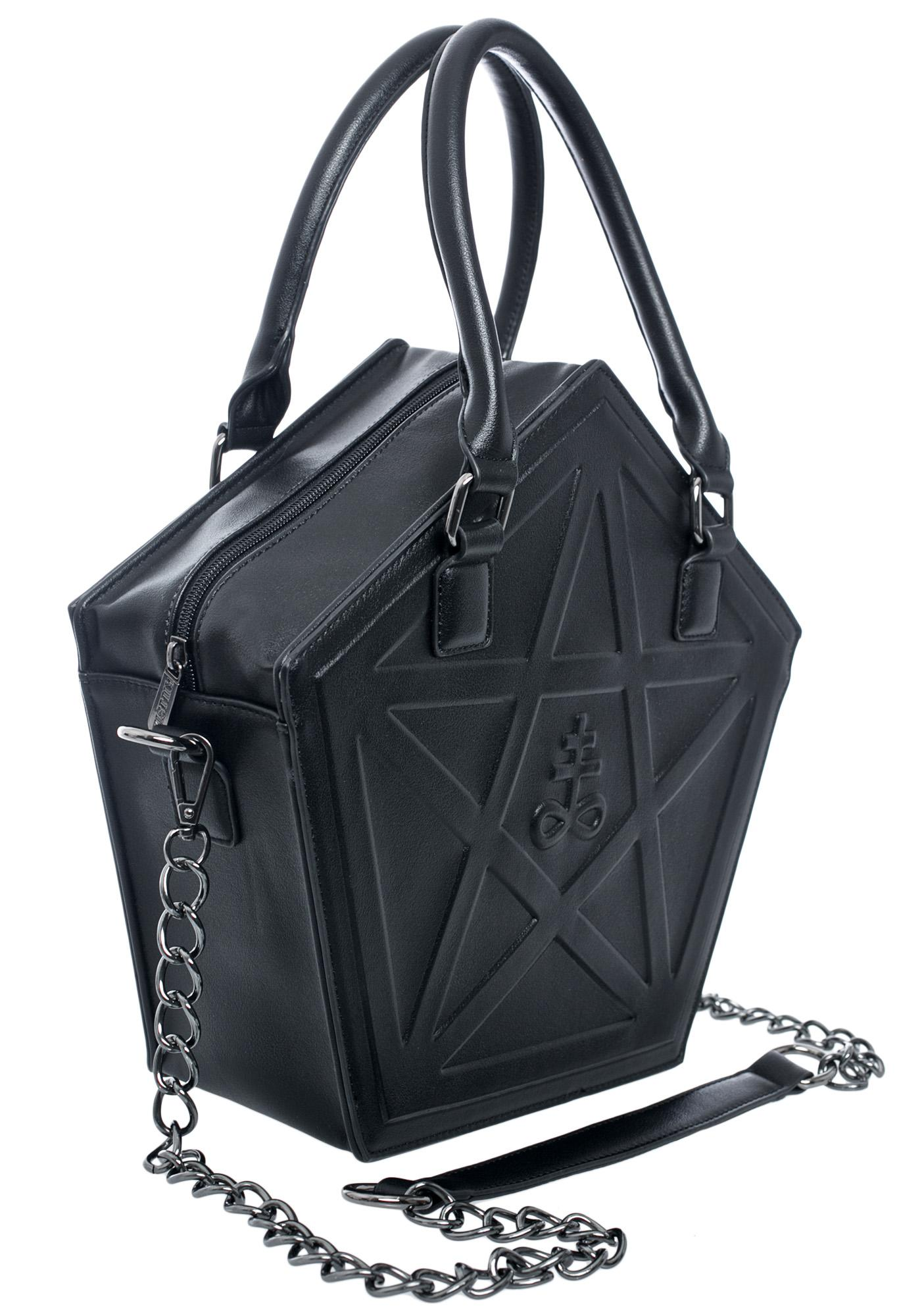 Killstar Kylie Kills Pentagram Bag