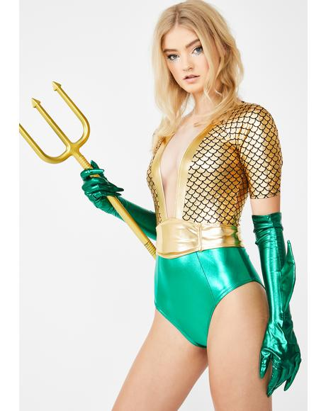 Atlantis Queen Costume Set