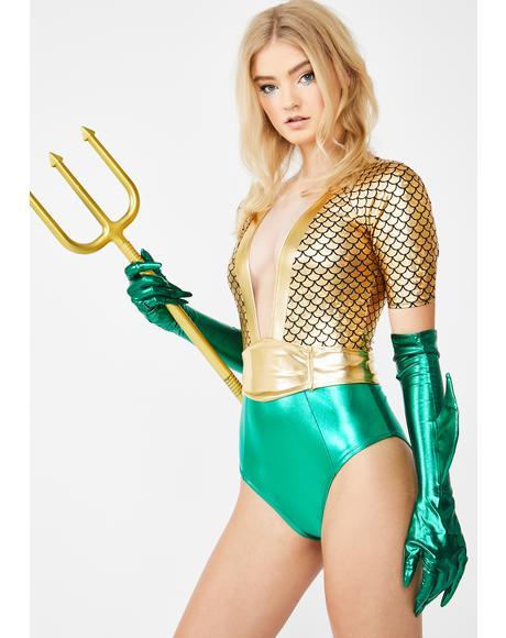 Atlantis Queen Costume Set