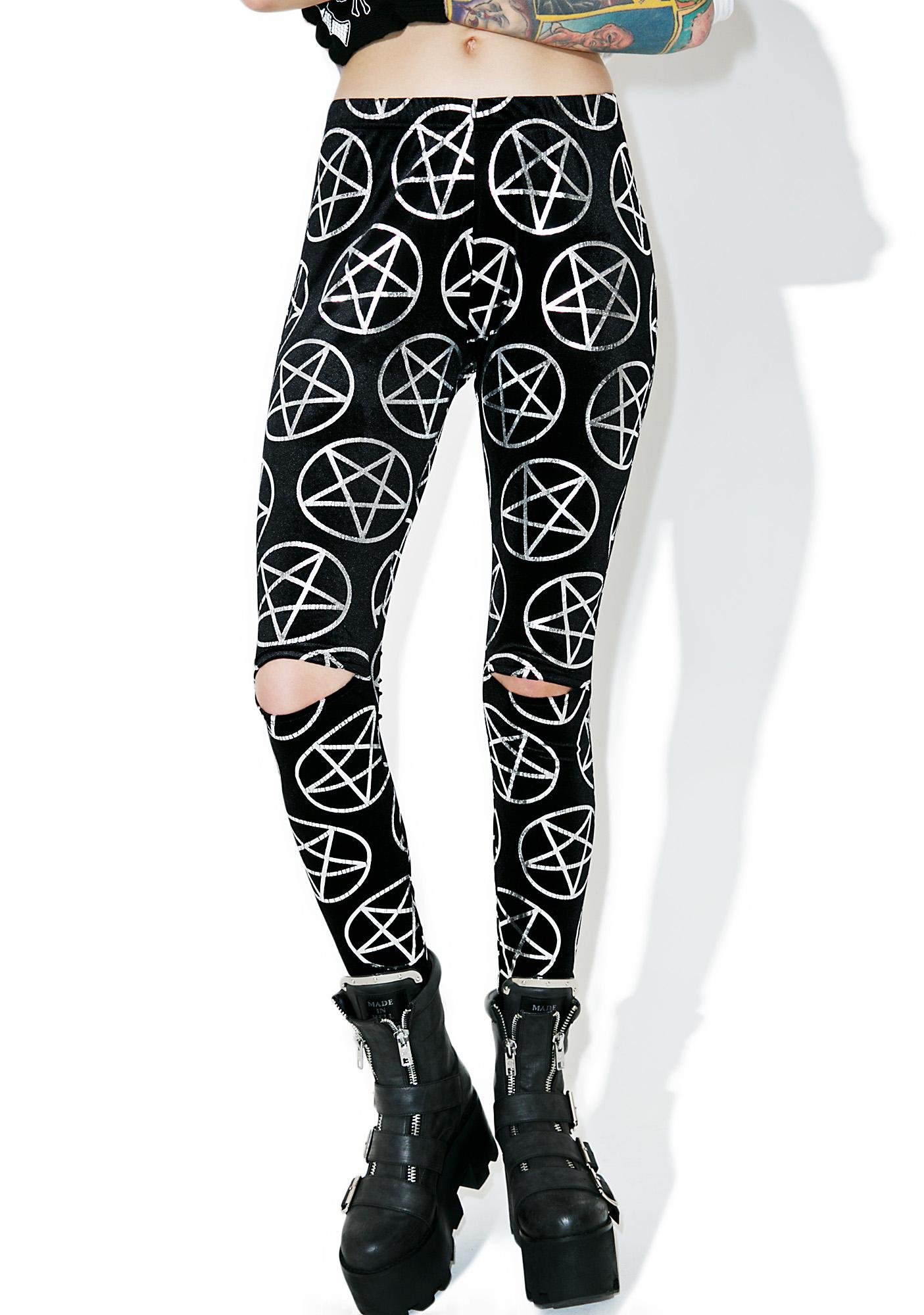 Killstar Can't Wait Leggings